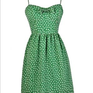 ModCloth Green Apple Dress
